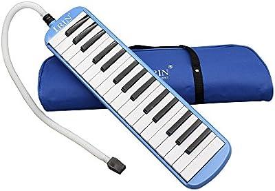 Andoer® 32teclas de piano Melodica Regalo de Instrumento Musical para amantes de la música principiantes con bolsa de transporte)
