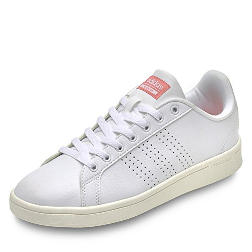adidas Cloudfoam Advantage, Sneakers Basses Femme Bleu marine/blanc