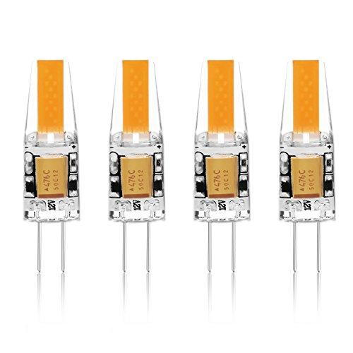 G4 LED Lampe Birne - Ascher 4er-Pack G4 LED Leuchtmittel 2W 210...
