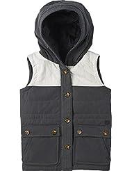 Burton Jacke Girls Geneva Vest - Chaleco de esquí para niña, color gris, talla XS