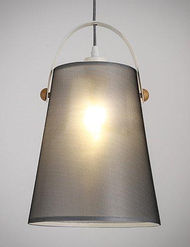 Modern Classic Black Metal Deckenleuchten Hängeleuchten deckenleuchten hängeleuchten Leuchten mit Stoff, Wohnzimmer Schlafzimmer Esszimmer Lampe 115V #42 -