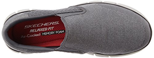 Skechers Herren Equalizer 2.0 Sneaker Grau (Ccrd)