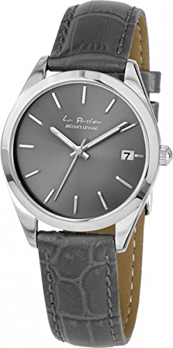 Jacques Lemans La Passion Orologio da polso da donna 34 mm Bracciale in pelle nuova LP di 132 A