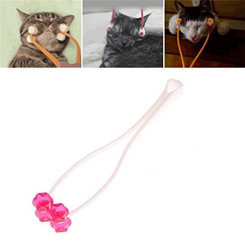 logres Cat Face Massagegerät, Roller Face Massagegerät für Kitty Pet Spielzeug