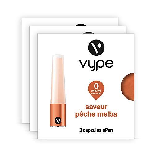 Vype 84134-01 Flüssigkapseln ePen Geschmack PESCA Melba 0 mg/ml