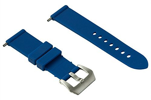 Cinturino in Gomma 24 mm Blue