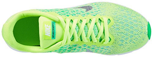 Nike Air Max Sequent 2, Chaussures de Running Fille Vert (Ghost Green/metallic Silver/electro Green)