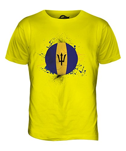 CandyMix Barbados Fußball Herren T Shirt Zitronengelb