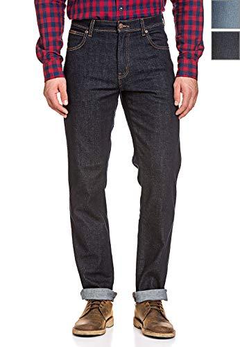 Wrangler Herren Stretch Jeans Texas Regular Fit Straight Cut Hose