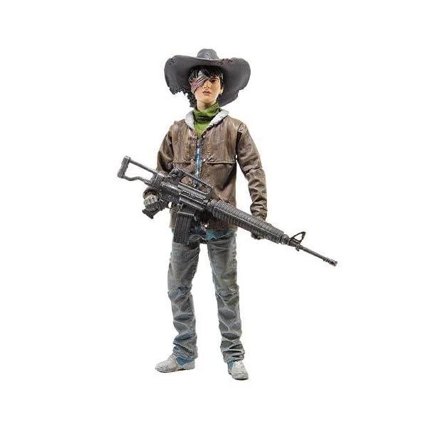 Walking Dead - Juguete Serie 4 Figura Carl Grimes de colección cómica (MAY150635) 1