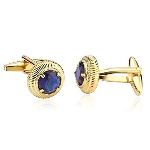 epinki-men-stainless-steel-round-with-cubic-zirconia-gold-blue-tuxedo-shirts-cufflinks