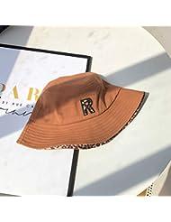 f5b4ebd4a660b ZHANGYUFAN Sombrero de Primavera y otoño Mujer Salvaje Pescador Sombrero  Femenino Verano japonés Sun Hat protección