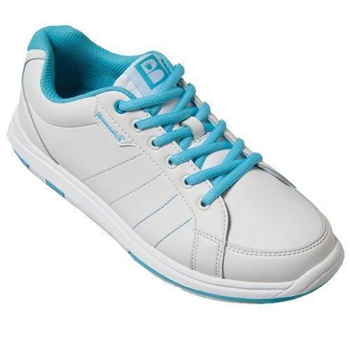 brunswick-satin-ladies-bowling-shoes-white-aqua-weiss-aqua-size41-eu-by-satin