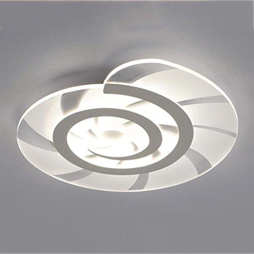 @ceiling Leuchte Schlank Led Deckenleuchte Wohnzimmer Studie Lampenschirm Deckenleuchte Lamparas De Techo ( Farbe : Trichromatic light-60 )
