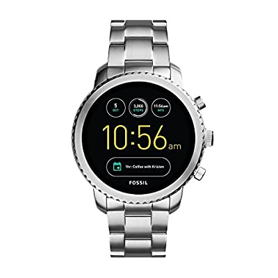 Fossil Explorist Analog-Digital Black Dial Men's Watch-FTW4000