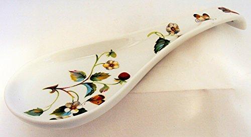 Cucchiaio in Ceramica Smaltata Collezione Profumo di Mare confezionato con Elegante Scatola Bomboniera Regalo Appoggia mestolo