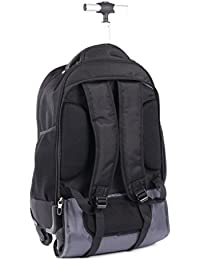 bugatti BKPW2622 Matt Backpack on Wheels 13