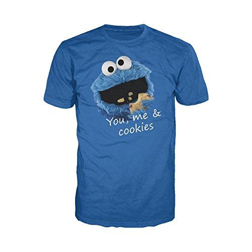 Monster, You & Me Official Men's T-Shirt (Royal Blue) (X-Large) ()