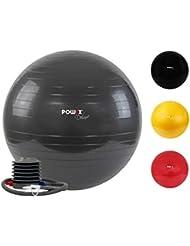 Gymnastikball Deluxe Sitzball mit Pumpe in versch. Größen