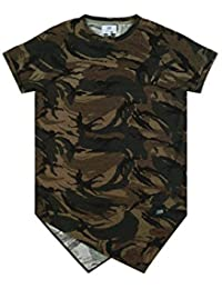T-shirt camouflage Sixth June coupe pointe vert 1824C