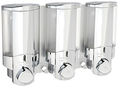 Aviva Triple Bathroom & Shower Dispenser Chrome