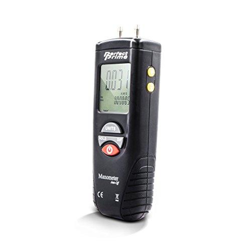 PerfectPrime AR1890 Professionelle Digital Luftdruckmesser & Manometer zum Messen Messgerat & Differenzdruck ±13.79kPa / ±2 psi / ±55.4 H2O