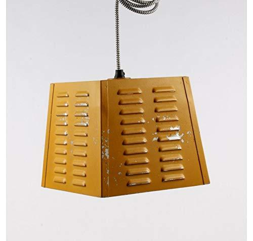 Lampe Suspension Vintage Jaune