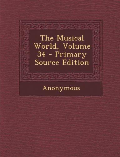 The Musical World, Volume 34