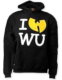 Wu-Wear I Love Wu Hoodie Wu-Tang Clan Tang Wear Hoody Sweater M-3XL