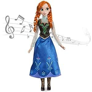 Disney Store - Poupée chantante Anna de la Reine des Neiges