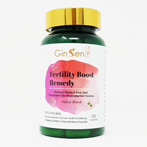 Ginsen Fertility Tablets 150 Caps Men And Women Helps Boost Fertility Sperm Quality Irregular Periods Ovulation Ivf Healthy Egg And Sperm Vegan Vegetarian Natural Chinese Remedy Uk Made Buy Online In El