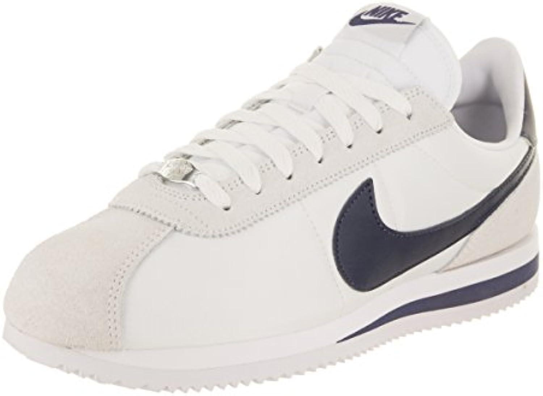 les hommes de base de de chaussures nike cortez de base nylon bleu indigo 819720-102 Blanc  / neutre b07cwg9xym parent dadf75