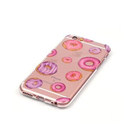 iPhone 6S Custodia Case, Silicone molle TPU iPhone 6s / 6 copertura Cover, Cartoon Modelli di personalità // farfalla // ShockProof Ultra Slim & Pesare leggero # 3