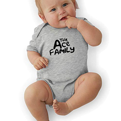 Bodys & Einteiler,Babybekleidung, Baby one-Piece Suit,Baby Jumper,Pajamas, Baby Boy Bodysuits, ACE Family Logo Organic Baby Toddler Bodysuit Baby Clothes -