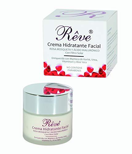 Crema Facial Hidratante Rosa Mosqueta + Vitamina E