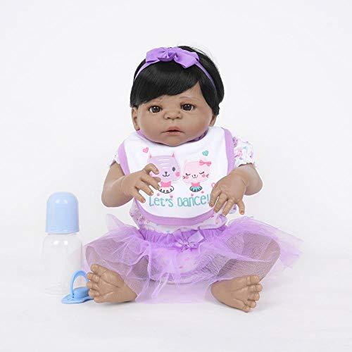 Hongge Reborn Baby Doll,Reborn Baby Doll,Lebensechte Puppe Simulator Babypuppe 55cm - Simulator Baby