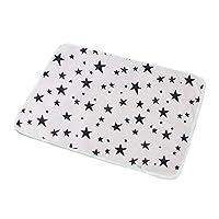 Jiushilun Changing mats Baby Diaper Changing mat Infants Portable Foldable Washable Waterproof Mattress Travel Cushion Reusable pad Cover J 1PCS,50X70CM