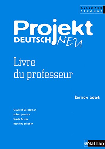 Projekt Deutsch Neu 2e par Collectif