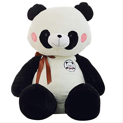 Ylout Classic Panda Plüschtier 60Cm,KuscheltierBär Puppe Cute Kids Toy Weiche Kissen Good Valentine Geschenk Cartoon Geschenk (Jungen Stofftier Valentine)