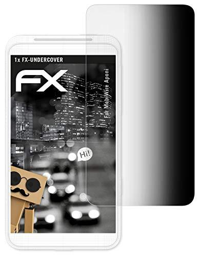 atFolix Blickschutzfilter für MobiWire Aponi Blickschutzfolie, 4-Wege Sichtschutz FX Schutzfolie