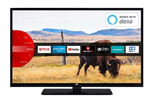 JVC LT-32V55LFA 81 cm (32 Zoll) Fernseher (Full HD, Triple-Tuner, Smart TV, Prime Video, Bluetooth)
