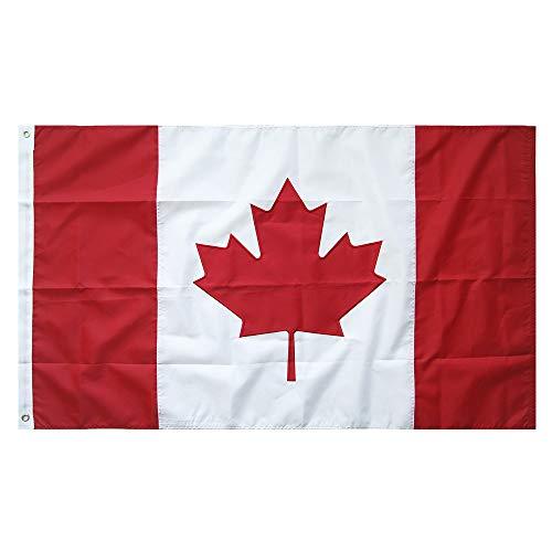 /Fahne Top Qualität Stickerei für Windige Tage 150 x 90 cm Nationalflagge Durable 210D Nylon Draußen/Drinnen Dekoration Flagge - Nicht billiger Polyester MEHRWEG ()