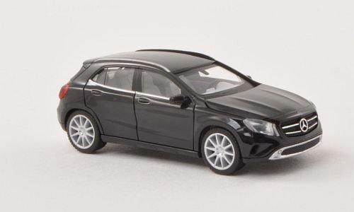 Mercedes GLA-Klasse (X156), schwarz , Modellauto, Fertigmodell, Herpa 1:87