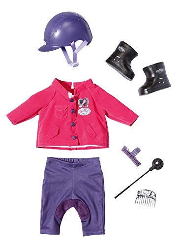 Zapf Creation 822340 - Baby born Pony Farm Deluxe Reit-Outfit
