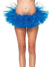 Leg Avenue Organza Tutu, One Size, Royal Blue