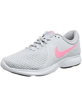 Nike Damen Wmns Revolution 4 EU Laufschuhe, Schwarz/Anthrazit