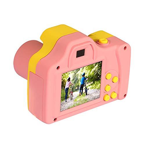 Houkiper Kinder Digitalkamera Mini-Bildschirm Kinderkamera TFT 1,77-Zoll-Bildschirm Build-in-Mikrofon (Pink)