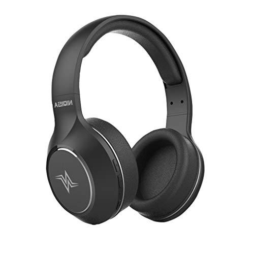 Elospy Bluetooth 5.0 Kopfhörer Stereo Super Bass Headset Mic 22H Spielzeit Kabellose Over-Ear mit Mikrofon PC Headset Rauschunterdrückung Leicht Wireless Headset für Handy PC LKW-Fahrer