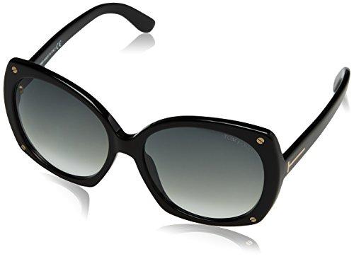 Tom ford occhiali da sole ft0362_pan_01b (59 mm) black, 59