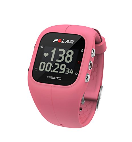 Polar A300 Fitness and Activity Tracker with Heart Rate Monitor - Pink